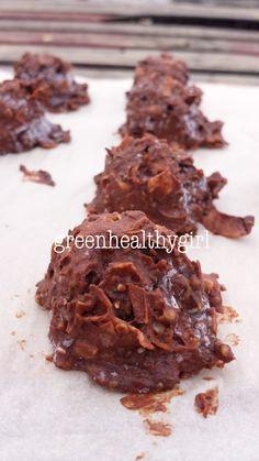 Healthier chocolate coconut macaroons