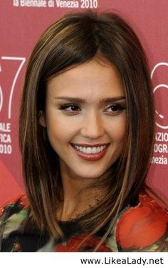 jessica alba lob people i want to be friends with pinterest bobs cut and color and my hair. Black Bedroom Furniture Sets. Home Design Ideas