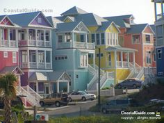 Atlantic Beach, North Carolina - On The Crystal Coast's Southern Outer Banks, The Barrier Islands Of NC - History, Attractions, Cottage Rentals, Things to Do - Atlantic Ocean Beaches and Intracoastal Waterway