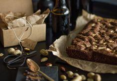 Um brownie de cerveja para 'pais-chocolate'.