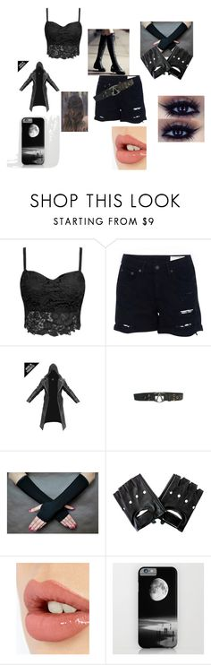 """modern assassin creed female"" by blackanimewolf ❤ liked on Polyvore featuring rag & bone, Charlotte Tilbury and modern"