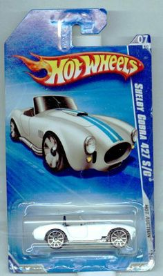 Hot Wheels 2010-165/240 Hot Auction 07/10 Shelby Cobra 427 S/c 1:64 Scale by Mattel. $2.33. Hot Auction. 1:64 Scale Die Cast Collector Car. WARNING: CHOKING HAZARD -- Small parts. Not for children under 3 yrs.