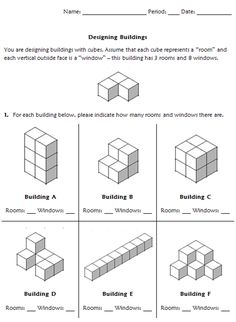 volume and surface area Designing Buildings