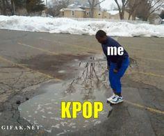 Yo cuando conocí el kpop :u