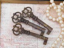3 alte Schlüssel ♥ Shabby Chic