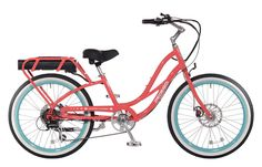E-Bikes by Pedego Electric Bikes, especially these comfort cruisers are a great way to enjoy an electric bike ride with quiet e bike power that is eco-friendly and fun to ride.  Get out on one of these electric bikes today.