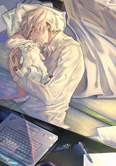 I know it's not around, but I like to do it – Anime Ideas Hot Anime Boy, Cute Anime Guys, Anime Boys, Manga Boy, Anime Kunst, Anime Art, Anime Cosplay, Kawaii Anime, Anime Boy Zeichnung