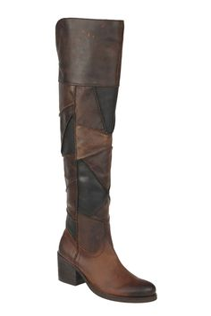 Locomotive Over The Knee Boot