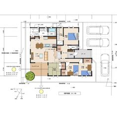 Japanese House, House Plans, Floor Plans, Flooring, How To Plan, Home, Instagram, Ideas, Home Plans