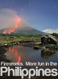 FIREWORKS. More FUN in the Philippines!
