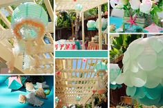 Mermaid Birthday Party Ideas | Photo 29 of 32 | Catch My Party