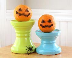 oranges + cloves = halloween pomanders