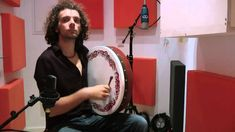 Irish Reels on Tin Whistle, Bodhran and Celtic Harp - Humours of Tulla