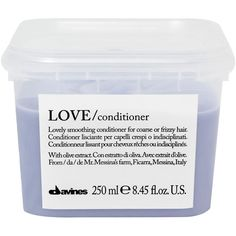 Davines Love Conditioner 250ml ($22) ❤ liked on Polyvore featuring beauty products, haircare, hair conditioner, fillers, beauty, hair, cosmetics, davines hair care and davines