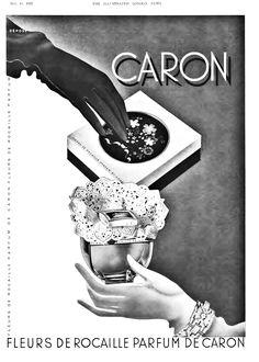 Caron Perfume, Perfume Adverts, Vanitas Vanitatum, Cosmetics & Perfume, Vintage Perfume, Vintage Beauty, Vintage Ads, Fragrance, Heaven