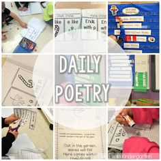 Looking for ways to introduce your students to poetry? Check out these kindergarten poetry activities, including printables and a free download!
