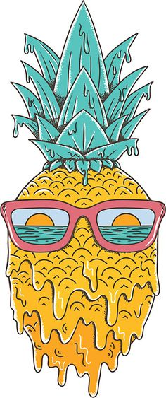 Pineapple Summer • Also buy this artwork on stickers, apparel, phone cases, and more.