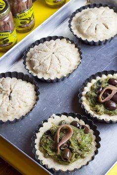 Mini pizze di scarola – Angelo Parodi