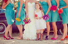 Bright Bridesmaids!