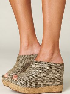 Wedge. These are cute.