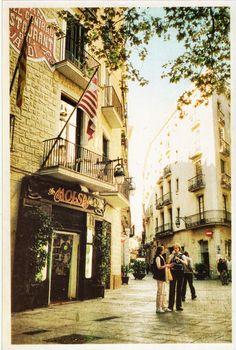 PLAÇA DEL PI ..  Barcelona Catalonia
