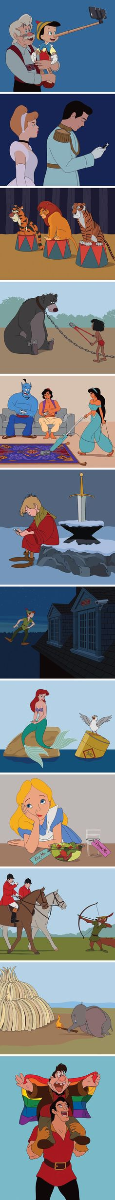 Artist imagines what Disney characters would look like in - Funniest Pictures Disney Princess Drawings, Disney Princess Pictures, Disney Pictures, Disney Drawings, Funny Pictures, Funny Disney Jokes, Disney Memes, Disney Quotes, Disney Theory