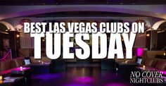 While only certain nightclubs are open on Tuesday night in Las Vegas, some of the best ones are. Don't miss our free guest list & table reservations.