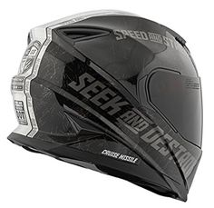 Speed and Strength Cruise Missile Men s SS1600 Sports Bike Motorcycle Helmet 4