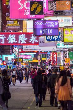 Mong Kok, Kowloon, Hong Kong