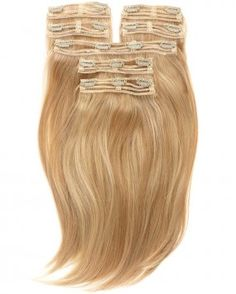 Create volume with Clip Ins Hair extensions.
