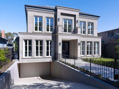 Explore the portfolio of luxury, custom new homes and construction projects that Canny has completed, from residential home designs, to commercial buildings, apartments and more. Display Homes, French Provincial, Home Builders, Luxury Homes, Facade, Multi Story Building, New Homes, Design Inspiration, Exterior