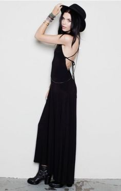 Lovey Tie Back Maxi Dress - NEW - Shop Online - StyleSays