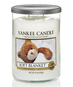 Look what I found on #zulily! Large Two-Wick Soft Blanket 20-Oz. Tumbler Candle #zulilyfinds