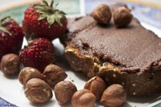Better-Than-Nutella Creamy Chocolate-Hazelnut Spread Recipe: What's better than Nutella? A homemade chocolate-hazelnut spread made of real food ingredients in your own kitchen, of course. This creamy chocolaty spread is perfect when paired with fresh berries, in raw desserts, or right off the spoon with a glass of raw milk. Absolutely delicious, and quite healthy too!