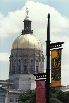Georgia State Capitol - Gold Dome - Atlanta, GA  --  5 x 7 matted to 8 x 10 $20.00 or upsize