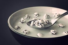 I eat stormtroopers for breakfast.