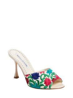 Bartuslo High Heel Sandal by Manolo Blahnik at Gilt