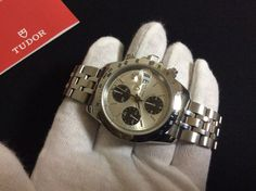 Tudor Prince Date 79280P Automatic Chrono Time  great condition  #TUDOR #LuxurySportStyles