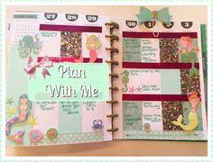 Plan With Me   Happy Planner   MERMAID THEME