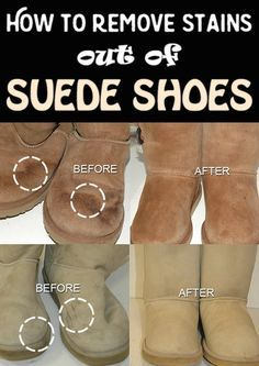 How to remove stains out of suede shoes - CleaningInstructor.com