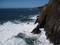 oregon Ocean Canvas, Oregon, Waves, Outdoor, Outdoors, Ocean Waves, Outdoor Games, The Great Outdoors, Beach Waves