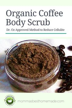 TOP SELLER! This organic body scrub actually reduces the appearance of cellulite! There is clinical evidence http://www.ncbi.nlm.nih.gov/pubmed/18254807 that topical spreads containing caffeine shrink