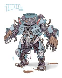 Transformer1000mb by Michal IvanMore robots here.