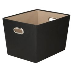 Found it at Wayfair - Benson Canvas Storage Bin