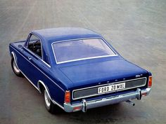 Ford Taunus Coupe P7 1968-1971