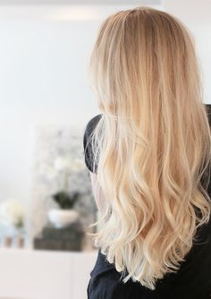 blonde + hair color