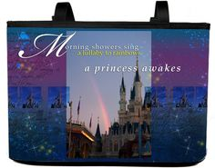 Another great designer bag by PixieGraph for all those Disney princesses out there!