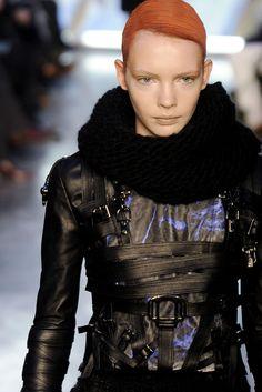 Future Fashion, black jacket, futuristic fashion, urban style, rodarte ...
