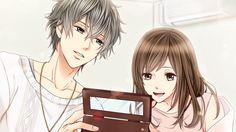 Riku Morimachi - My Last First Kiss One Last Kiss, Last One, First Kiss, Anime Couples, Cute Couples, Voltage Games, Samurai Love Ballad Party, Voltage Inc, Manga Couple