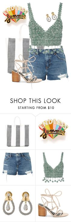 """""""Have Fun"""" by chelsofly on Polyvore featuring TRUSS, ban.do, Topshop, Rosie Assoulin, Charriol and Rebecca Minkoff"""